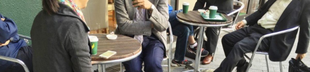 ゆるい朝活 静岡駅で朝食会